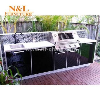 Whole Bbq Barbecue Stainless Steel Outdoor Kitchen Cabinets Island Grill