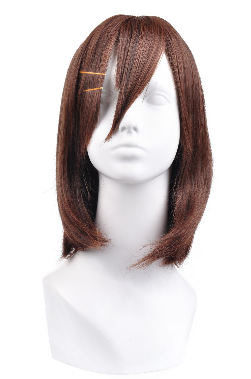 Get Quotations · MATO BUY Anime cosplay wigs K-ON! Yui Hirasawa cosplay wig  women short brown ff8d0b207c72