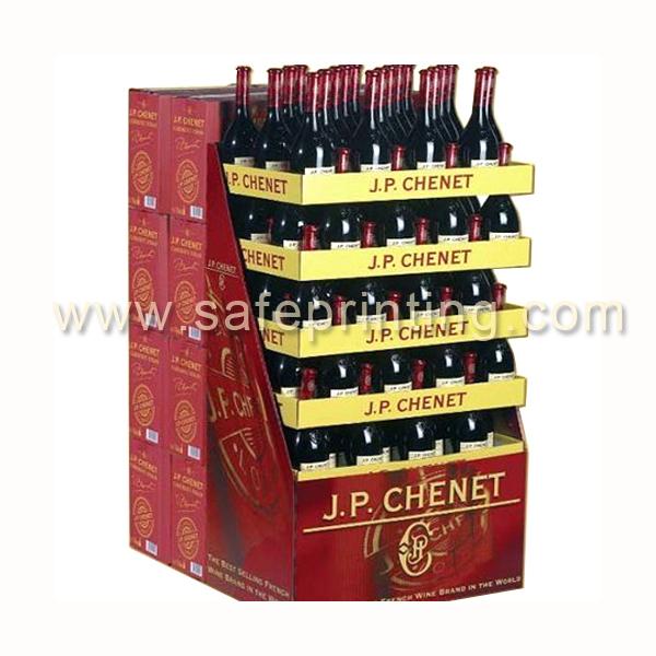 Superior China Manufacturer Custom Showcase Pop Display Liquor , 5 Gallon Wine Tea  Soda Liquid Beer Water