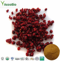 High Quality 100% Natural Certificated Organic Schisandra Berries Extract Powder