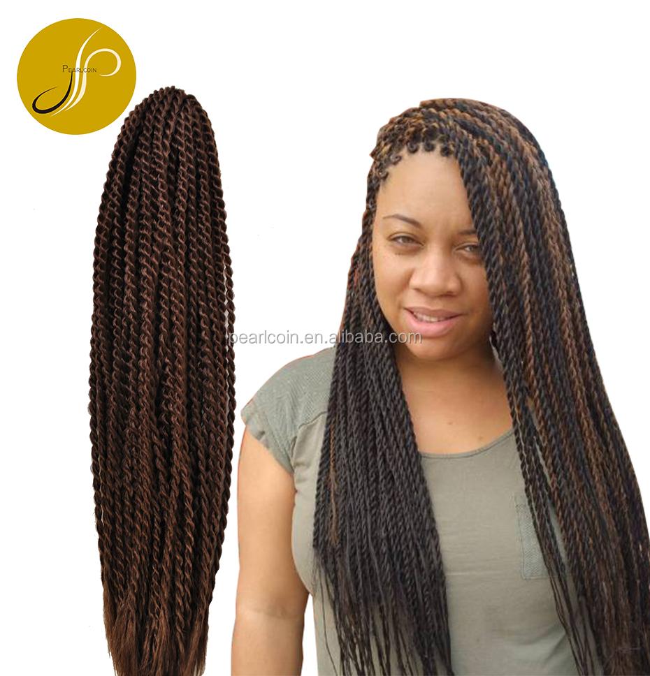 Long Senegal Rope Twist Braid Hair Pre Looped Super Chic Hot