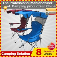 new style canopy folding chair for outdoor relaxing