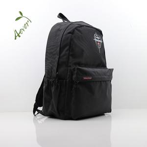 b3cbe5e293df Plain Black School Bag