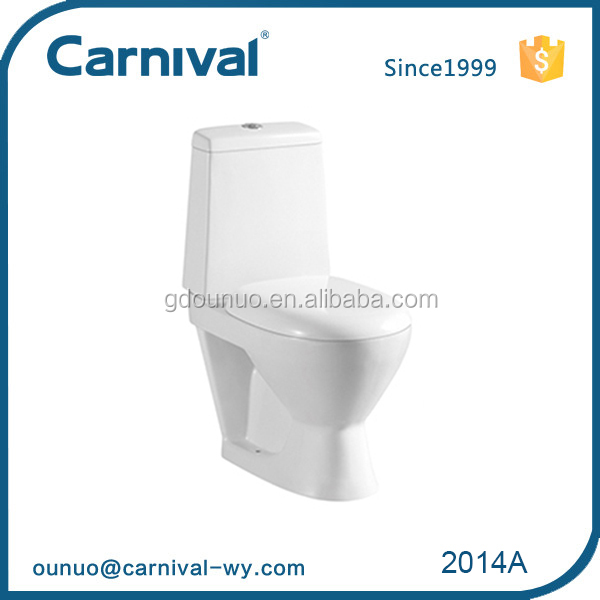 2014A China ceramic types of water two piece key closet toilet