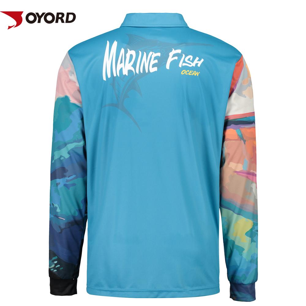 Custom Made Long Sleeve Polyester Fishing Shirts Buy Polyester