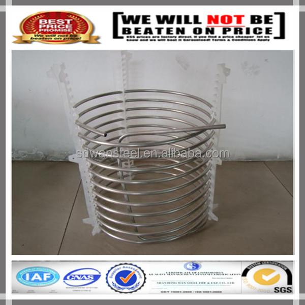 317 304 stainless steel bending coil tube/coil pipe