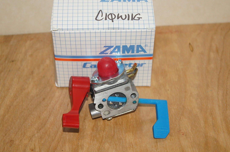 (Ship from USA) GENUINE ZAMA CARBURETOR C1Q-W11G = POULAN SNAPPER # 530071632 530071775 C1QW11 /ITEM NO#E8FH4F854118646