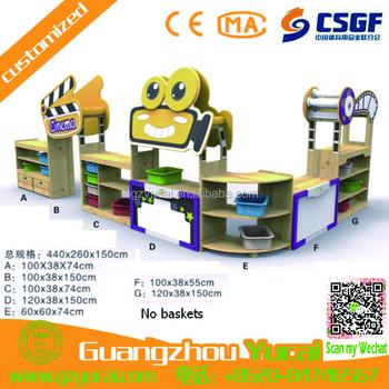 Nieuwe ontwerp kast kids school kast speelgoed houten muur snap plank buy product on - Nieuwe ontwerpmuur ...