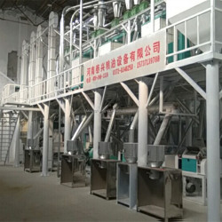 Full set small scale corn flour milling production line processing machinery