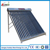 2015 balcony new design heat pipe solar collector with selective coating