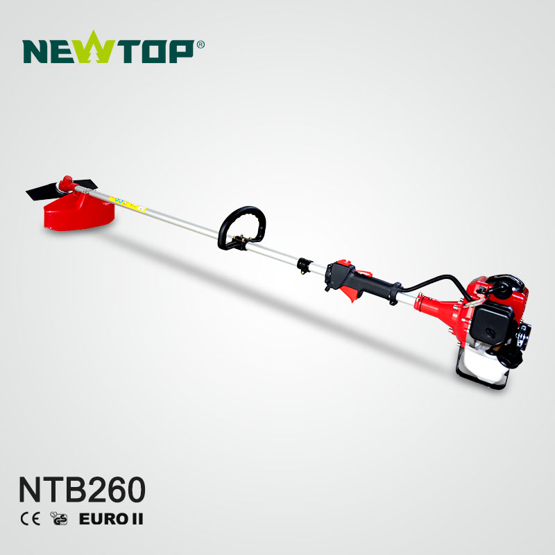 2-Stroke 26 cc Straight Shaft Gas String Trimmer and Brush Cutter