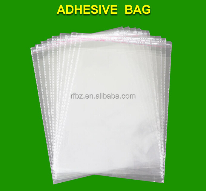 whosale opp transparent adhesive bag laminated raw material security small plastic bags for pills