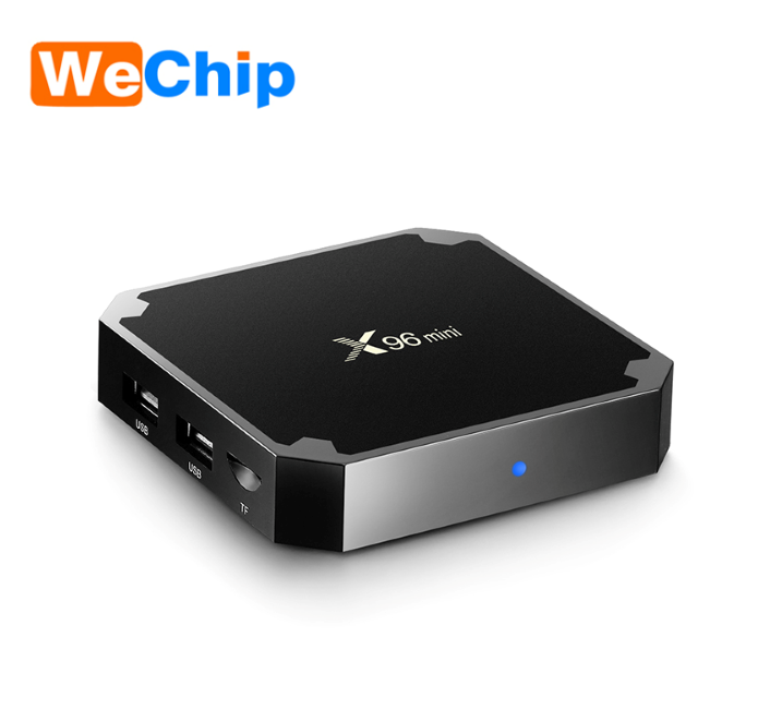 X96 MINI Amlogic S905W Quad Core Android 7.1 TV Box IPTV 4 k 2 gb 16 gb Intelligente Ota Del Firmware aggiornamento Set Top Box