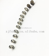 3D Alloy Antique Bronze Color Skull Charm For Paracord Bracelet DIY Skull Beads Charm