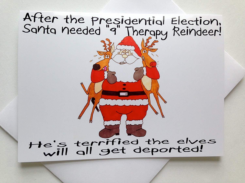 Buy Funny Beach Christmas Card - Time for Christmas - 18 Cards/ 19 ...