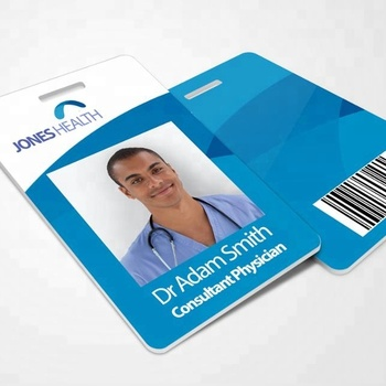 Hot Sale Inkjet Printing Student Employee Plastic Working ID Card/Photo Card