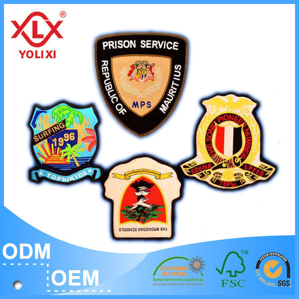 Customized woven name patch manufacturer