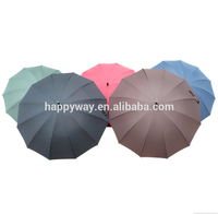 Hot Selling Golf Umbrella Custom Logo Print, MOQ 1000 PCS 0606014 One Year Quality Warranty