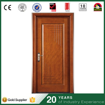 Modern Simple Wood Bedroom Front Door Designs Indian Houses Single Leaf Wooden  Door