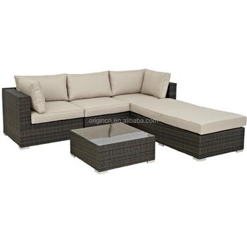 Cabana Wohn Freien Sun Lounge Bed Und 3 Sitzer Ecksofa Rattan Jardin Gartenmöbel Buy Jardin Gartenmöbelrattan Ecksofalounge Bed Product On
