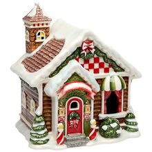 ceramic christmas houses ceramic christmas houses suppliers and manufacturers at alibabacom - Ceramic Christmas Houses