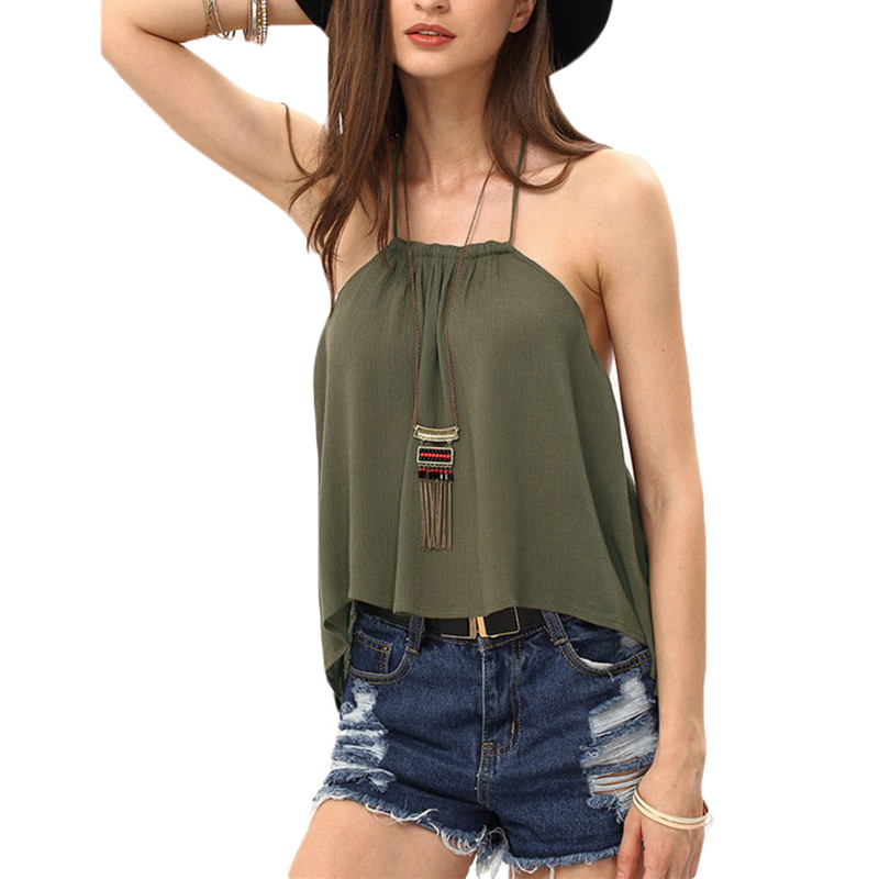 90ad3a52607940 2019 Wholesale ROMWE Ladies Summer Sexy Tops Fashion Camisoles For ...