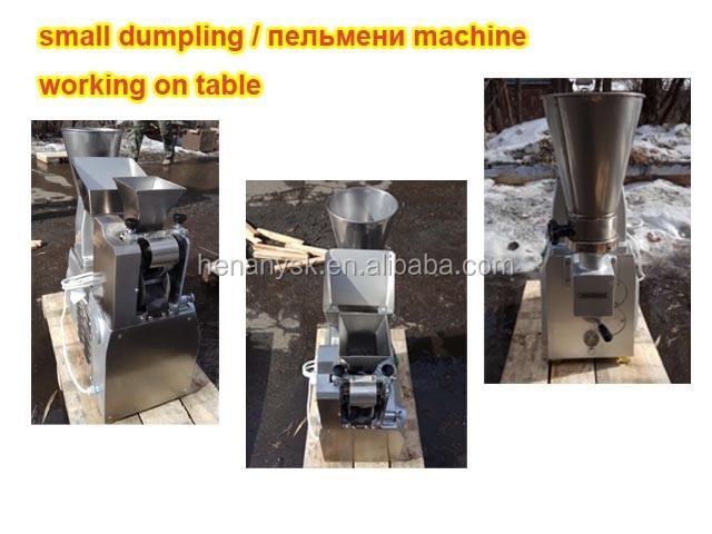 2018 JGT-60A Table Top Stainless Steel Small Dumpling Maker Machine Samosa Machine Jiaozi Ji Making Machine