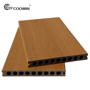 High quality wholesale eco-friendly coextrusion wood & plastic composite outdoor flooring decking