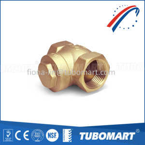 brass horizontal check valve Brass non return valve from Chinese factory