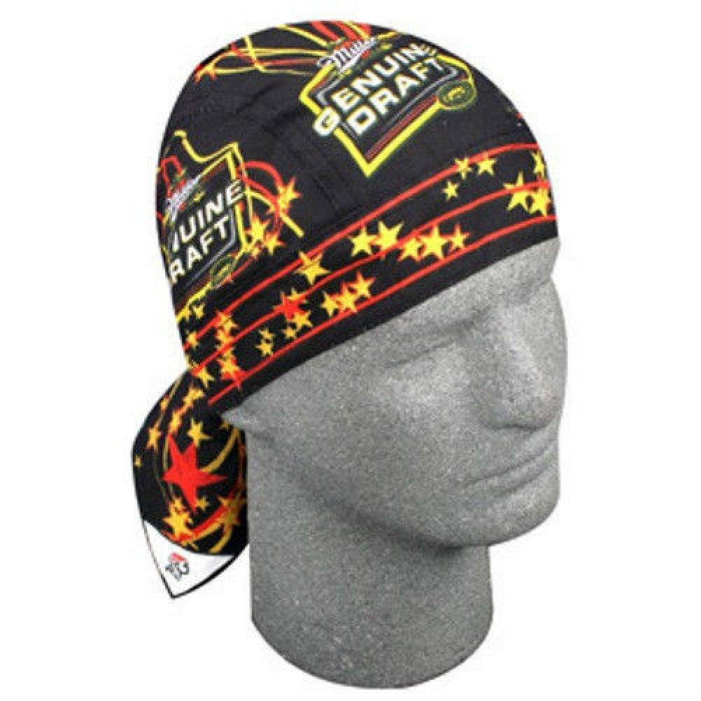 9ea19a9b10d Buy Doo Rag Orange Black Tiger Bengals Striped Cotton Skull Cap ...