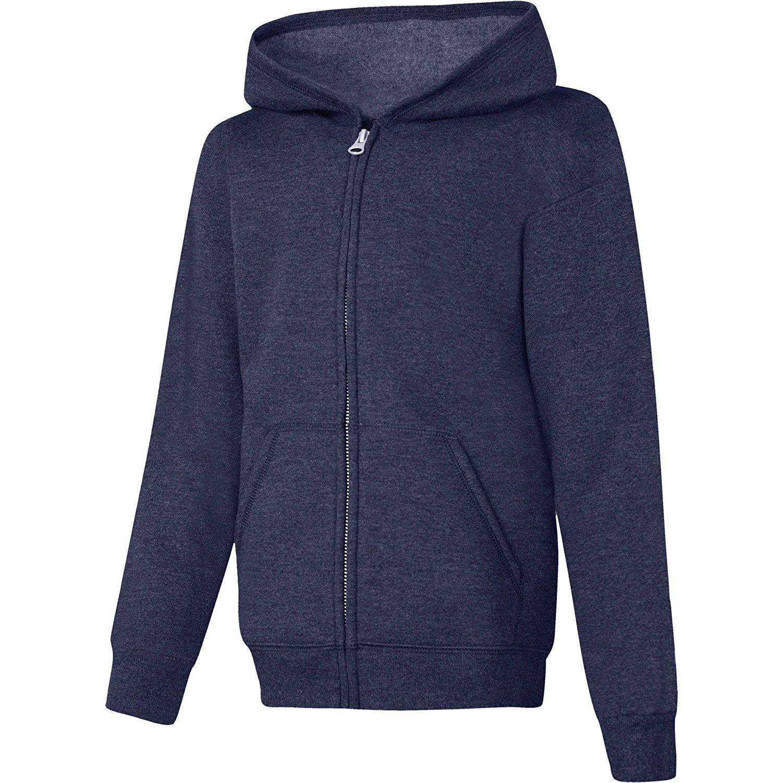 Boys//Girls New Hoodie//Hoody /'London/' Zipped With Union Jack Tag Navy Blue 1Y-12Y