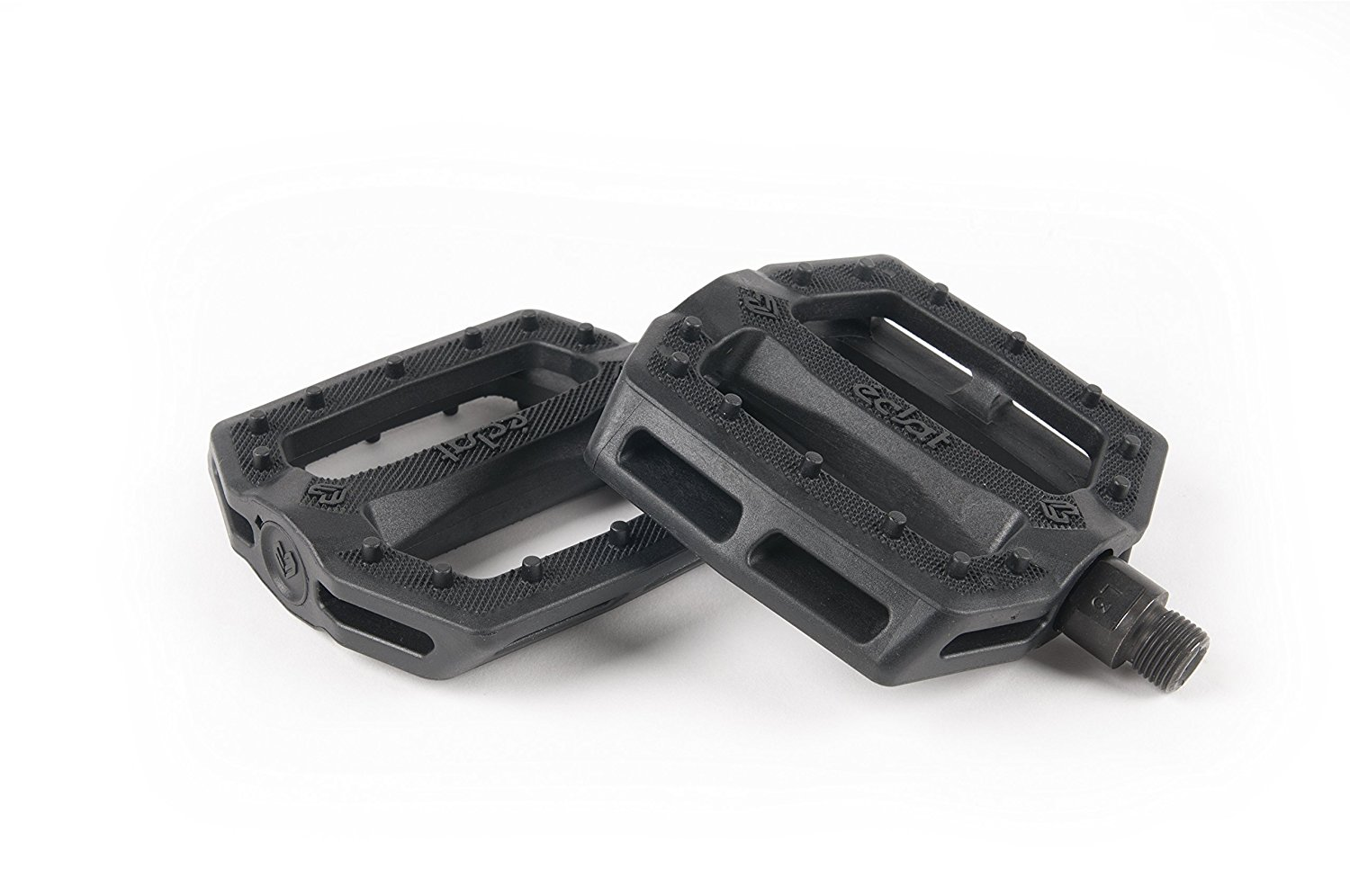 Eclat Slash PC Pedals 9/16 Black