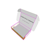WHITE CARDBOARD FOLDING MOVING PAPER BOX