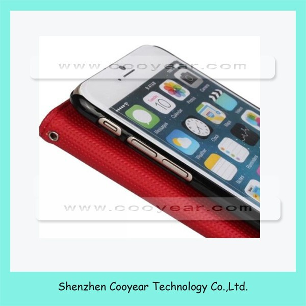2 in 1 wallet PU leather case for iPhone4GS/iPhone5 GS