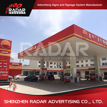 Digital price display for green gas stations sign led price board