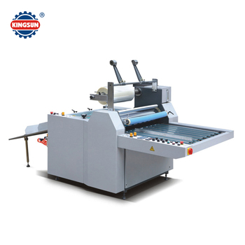 China alibaba Trade Assurance SFML Series Semi-automatic Thermal Film Laminating Machine