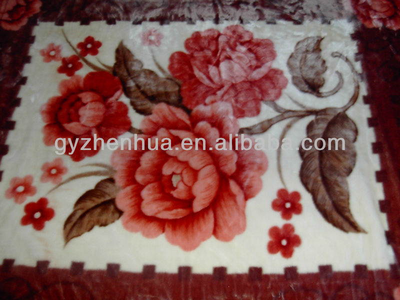 100% polyester mink blanket in china