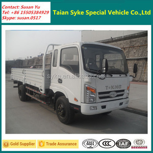 Promotion T-KING 4X2 Diesel Engine 6t Light Cargo Truck for Market