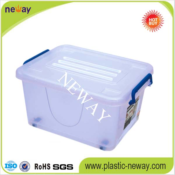 PP New Style transparent foldable plastic storage box
