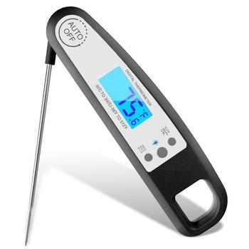 Folding Instant Read Kitchen Thermometer With Magnet LCD Display For Steak/bbq /CookingDTH-139