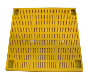 High Security Vibrating Screen Polyurethane Mesh Manufacturer In China