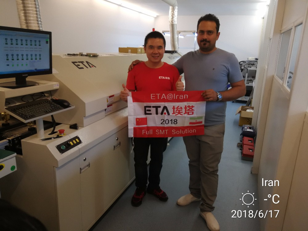 SEMI-AUTOMATIC STENCIL PRINTER FOR PCB PRINTING ETA P3 P6 P12 14