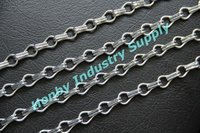 12mm shimmer silver color hook link aluminum chain partitions curtain for decoration