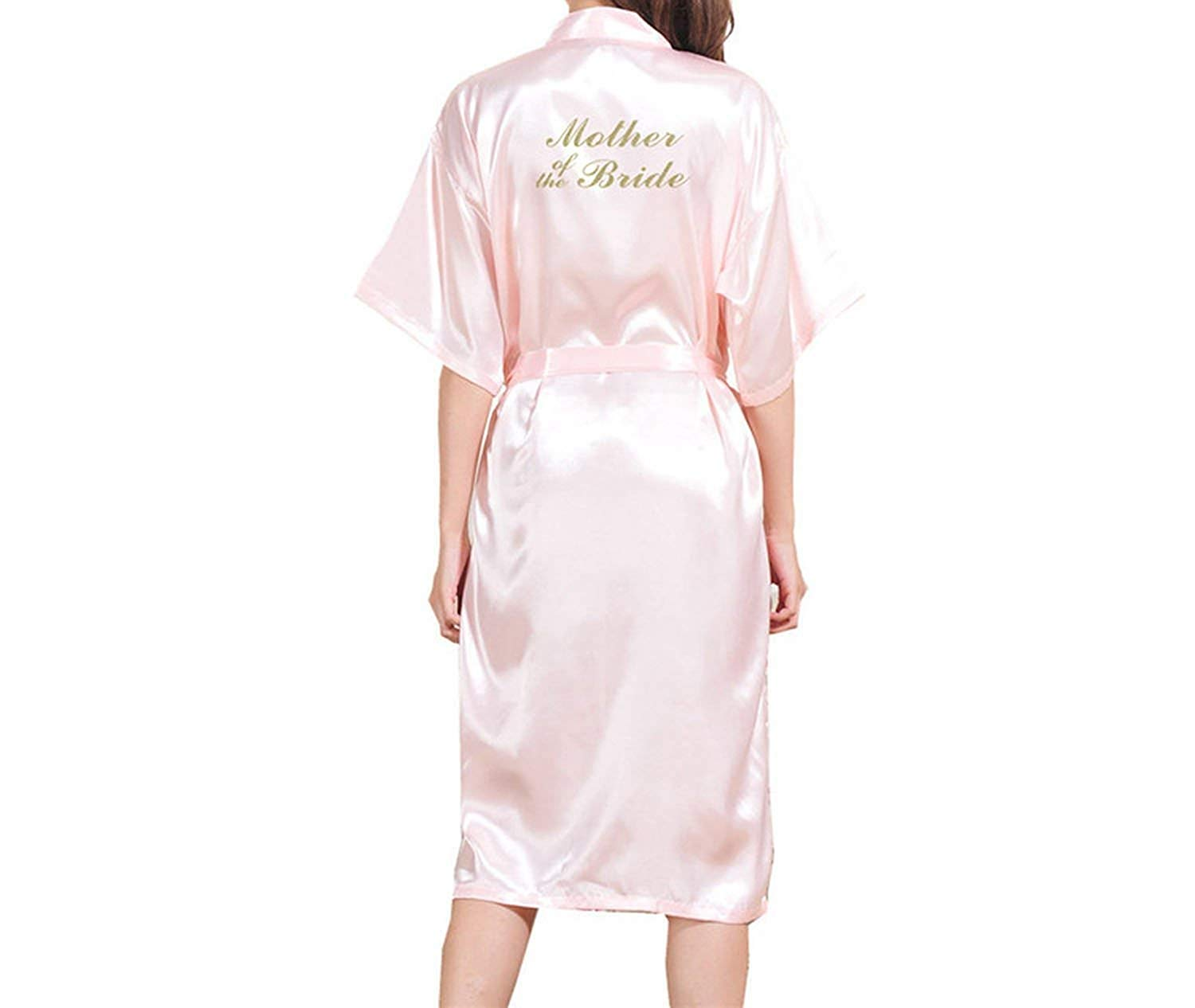 c8ac775916 Get Quotations · Robe Bronzing Bride Long Nightgowns Bridal Mothers Wedding  Makeup Morning Robes