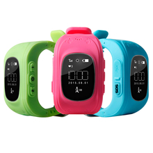 3G Kids GPS Tracker Smart Watch Q50 With GSM SOS Calling Function, Wrist Watch GPS Tracking Device For Children Kids Watch