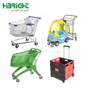 Cheap price grocery cart supermarket shopping trolley for sale