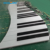 commercial led dance floor play music buried recessed outdoor RGB color interactive giant floor piano