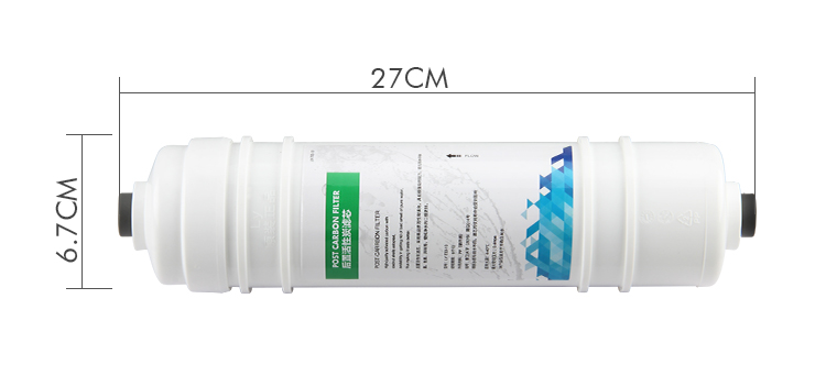 Nice T33 Post Carbon 10 inch Water Filter Cartridge
