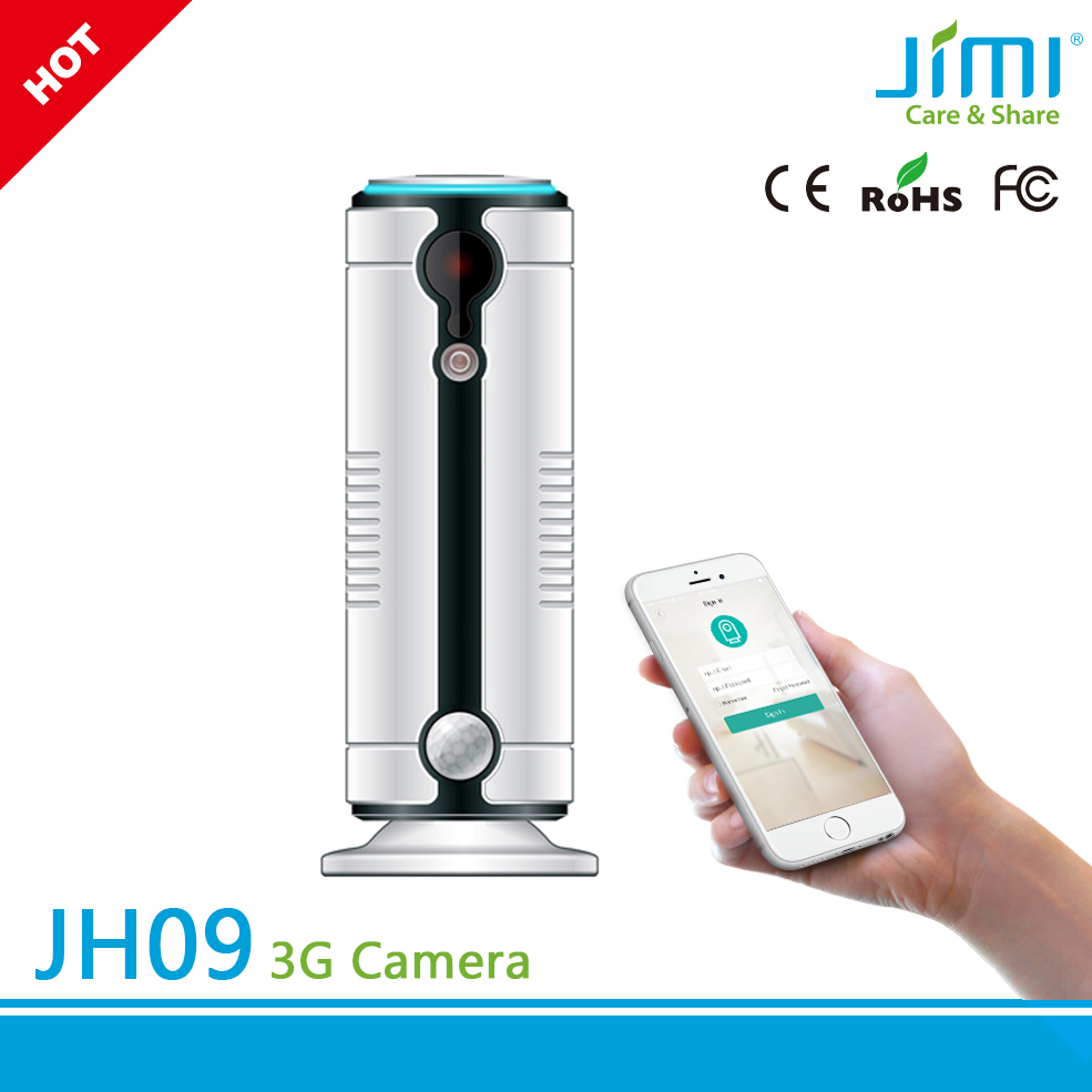 Recordable Wireless Security Camera SIM Slot 3G <strong>WIFI</strong> P2P IP Surveillance Camera