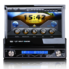 "7"" singolo din gps dvd con touch screen digitale automatico 800*480+steering dh7088 rotella per il controllo"